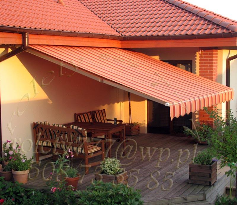Markizy Tarasowe Rolety777 Poznań Rolety żaluzje